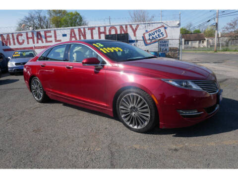 2013 Lincoln MKZ for sale at MICHAEL ANTHONY AUTO SALES in Plainfield NJ