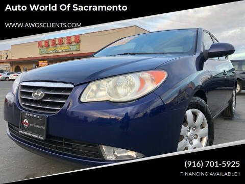 2008 Hyundai Elantra for sale at Auto World of Sacramento Stockton Blvd in Sacramento CA