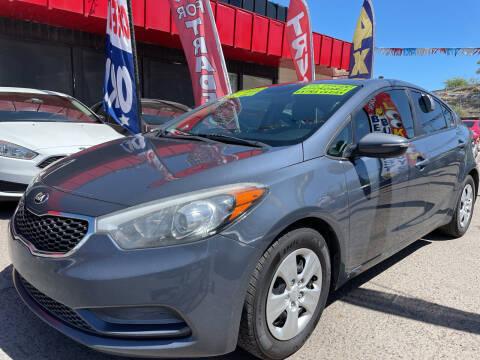 2015 Kia Forte for sale at Duke City Auto LLC in Gallup NM