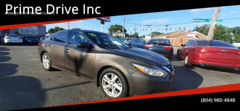 2016 Nissan Altima for sale at Prime Drive Inc in Richmond VA