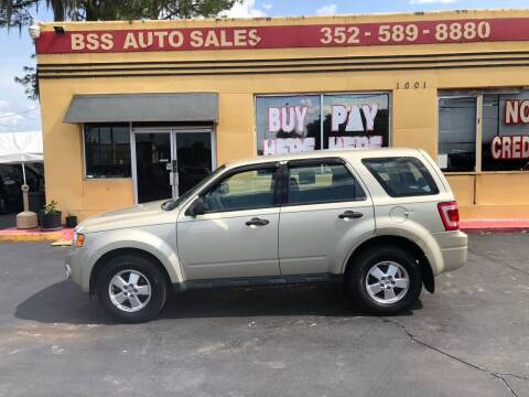 2012 Ford Escape for sale at BSS AUTO SALES INC in Eustis FL
