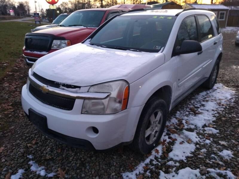 2008 Chevrolet Equinox for sale at Seneca Motors, Inc. (Seneca PA) - SHIPPENVILLE, PA LOCATION in Shippenville PA