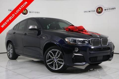 2018 BMW X4 for sale at INDY'S UNLIMITED MOTORS - UNLIMITED MOTORS in Westfield IN