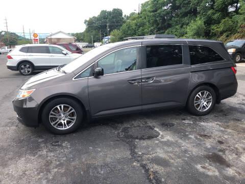 2013 Honda Odyssey for sale at J & J Autoville Inc. in Roanoke VA