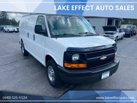 2009 Chevrolet Express Cargo for sale at Lake Effect Auto Sales in Chardon OH