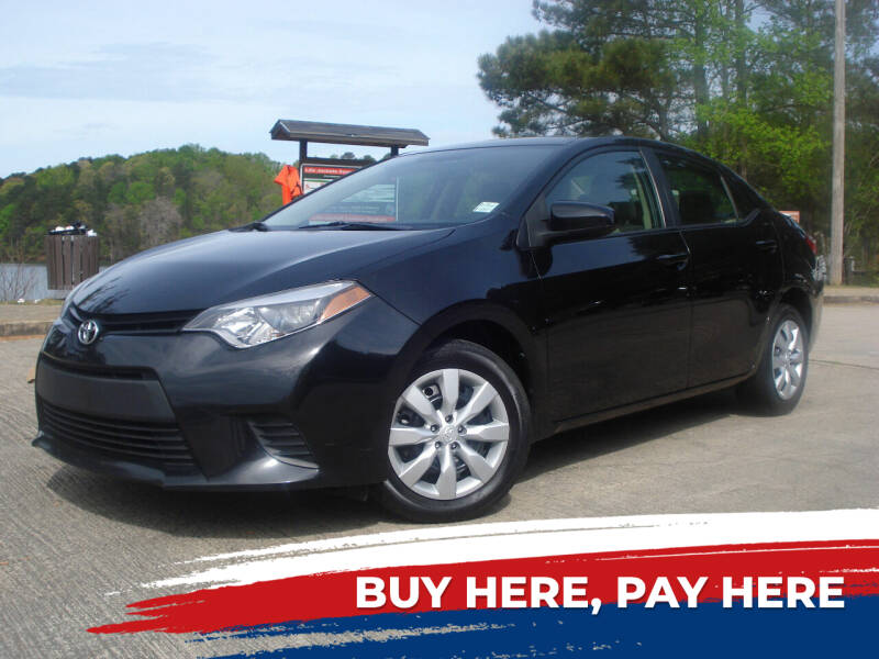 2014 Toyota Corolla for sale at Car Store Of Gainesville in Oakwood GA
