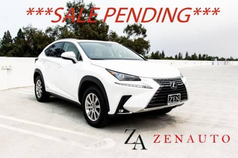 2021 Lexus NX 300h for sale at Zen Auto Sales in Sacramento CA