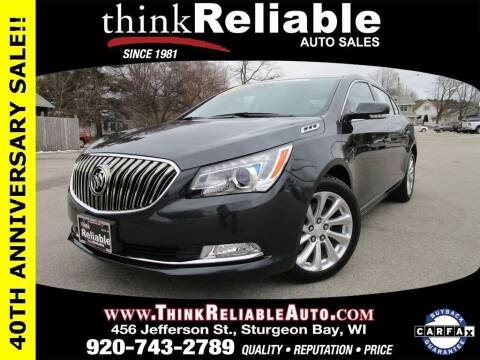 2015 Buick LaCrosse for sale at RELIABLE AUTOMOBILE SALES, INC in Sturgeon Bay WI