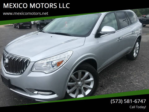 2015 Buick Enclave for sale at MEXICO MOTORS LLC in Mexico MO