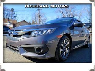 2016 Honda Civic for sale at Rockland Automall - Rockland Motors in West Nyack NY