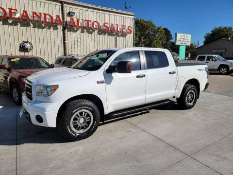 2011 Toyota Tundra for sale at De Anda Auto Sales in Storm Lake IA