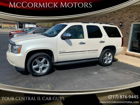2014 Chevrolet Tahoe for sale at McCormick Motors in Decatur IL