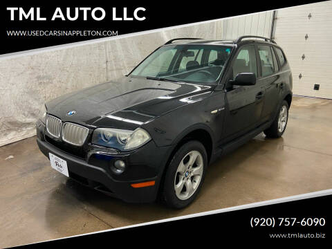 2007 BMW X3 for sale at TML AUTO LLC in Appleton WI