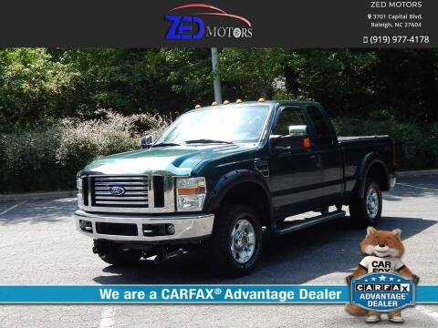 2010 Ford F-250 Super Duty for sale at Zed Motors in Raleigh NC