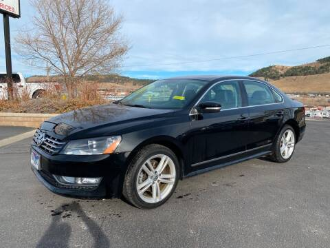 2012 Volkswagen Passat for sale at Big Deal Auto Sales in Rapid City SD
