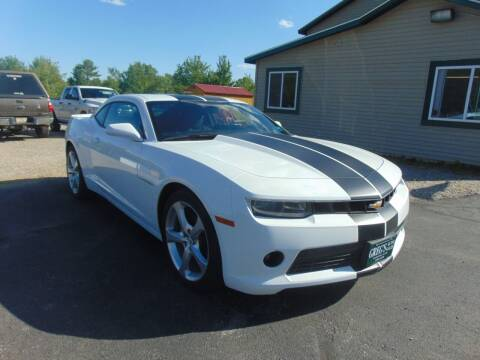 2015 Chevrolet Camaro for sale at Greg's Auto Sales in Searsport ME
