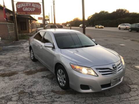 2010 Toyota Camry for sale at Quality Auto Group in San Antonio TX