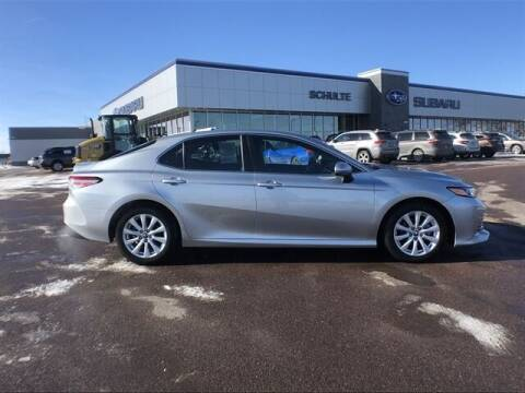 2018 Toyota Camry for sale at Schulte Subaru in Sioux Falls SD