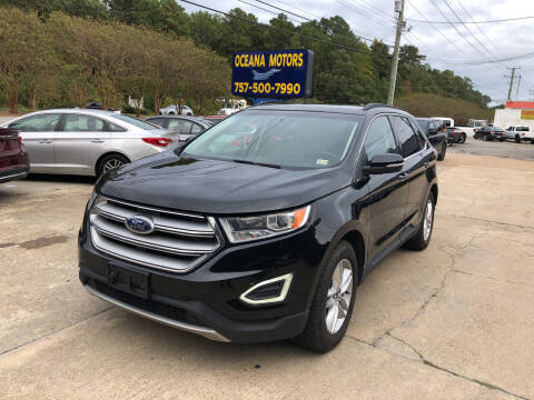 2015 Ford Edge for sale at Oceana Motors in Virginia Beach VA