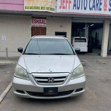 2007 Honda Odyssey for sale at Eshaal Cars of Texas in Houston TX