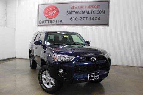 2018 Toyota 4Runner for sale at Battaglia Auto Sales in Plymouth Meeting PA