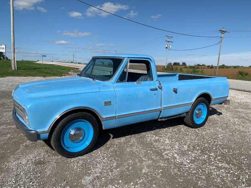 1967 Chevrolet C/K 20 Series for sale at Schrier Auto Body & Restoration in Cumberland IA