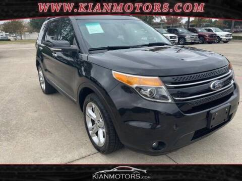 2015 Ford Explorer for sale at KIAN MOTORS INC in Denton TX