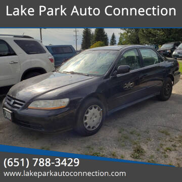 2001 Honda Accord for sale at Lake Park Auto Connection in Lake Park MN