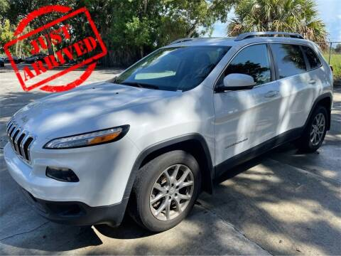 2018 Jeep Cherokee for sale at Florida Fine Cars - West Palm Beach in West Palm Beach FL