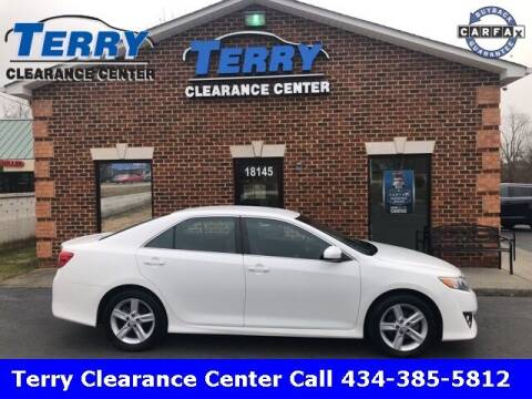 2014 Toyota Camry for sale at Terry Clearance Center in Lynchburg VA