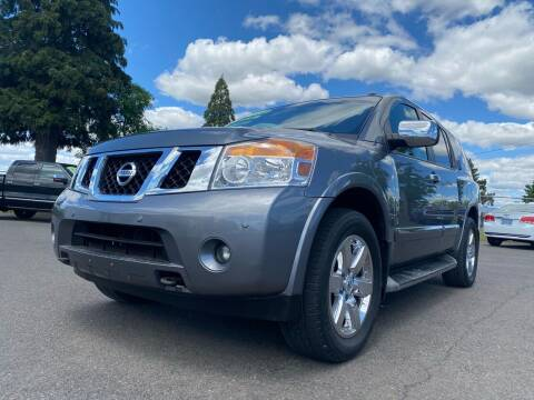 2014 Nissan Armada for sale at Pacific Auto LLC in Woodburn OR