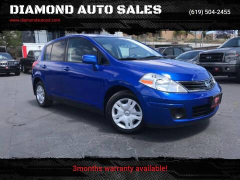 2012 Nissan Versa for sale at DIAMOND AUTO SALES in El Cajon CA