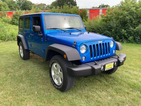 2015 Jeep Wrangler Unlimited for sale at M & M Motors in West Allis WI