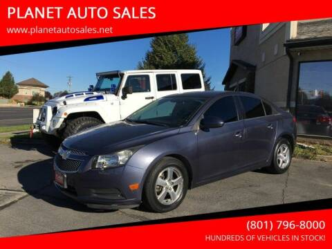 2013 Chevrolet Cruze for sale at PLANET AUTO SALES in Lindon UT