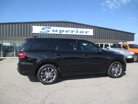 2020 Dodge Durango for sale at SUPERIOR CHRYSLER DODGE JEEP RAM FIAT in Henderson NC