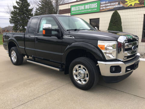 2013 Ford F-250 Super Duty for sale at MILESTONE MOTORS in Chesterfield MI