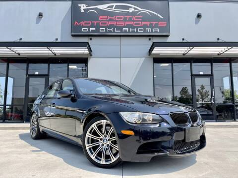 2011 BMW M3 for sale at Exotic Motorsports of Oklahoma in Edmond OK