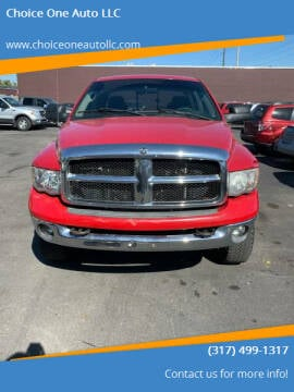 2005 Dodge Ram Pickup 2500 for sale at Choice One Auto LLC in Beech Grove IN