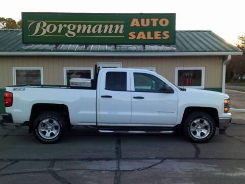 2014 Chevrolet Silverado 1500 for sale at Borgmann Auto Sales in Norfolk NE