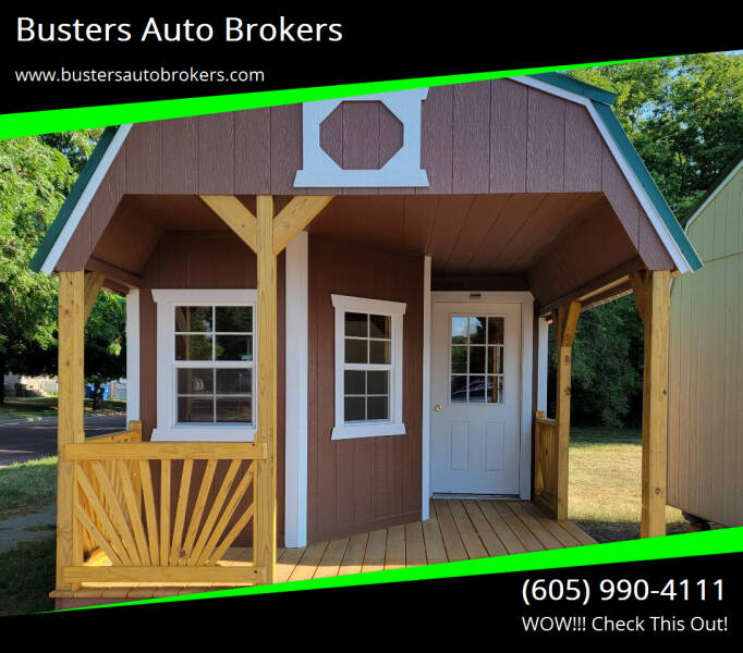 2020 Old Hickory Building 12 X 32 Deluxe Playhouse for sale at Busters Auto Brokers in Mitchell SD