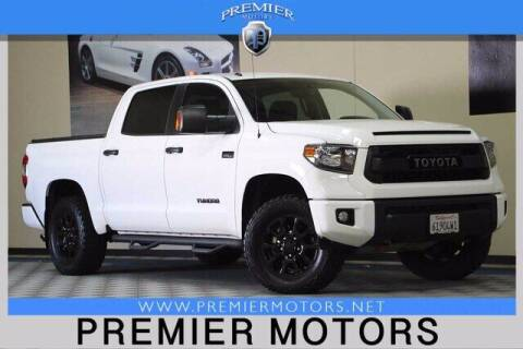 2015 Toyota Tundra for sale at Premier Motors in Hayward CA