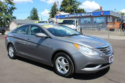 2013 Hyundai Sonata for sale at All American Motors in Tacoma WA