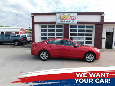 2015 Mazda MAZDA6 for sale at Pork Chops Truck and Auto in Cheyenne WY