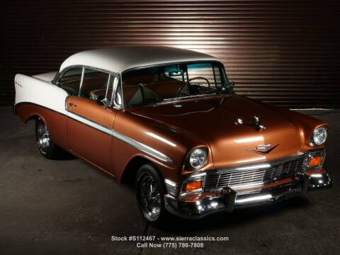 1956 Chevrolet Bel Air for sale at Sierra Classics & Imports in Reno NV