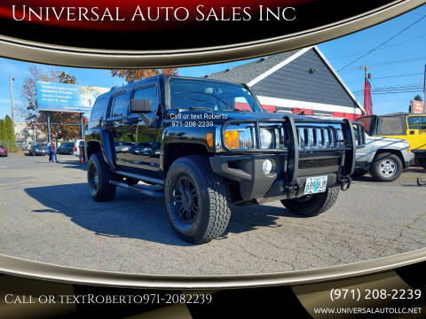 2006 HUMMER H3 for sale at Universal Auto Sales Inc in Salem OR