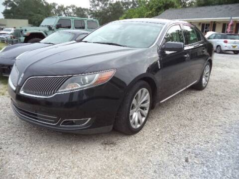 2014 Lincoln MKS for sale at PICAYUNE AUTO SALES in Picayune MS
