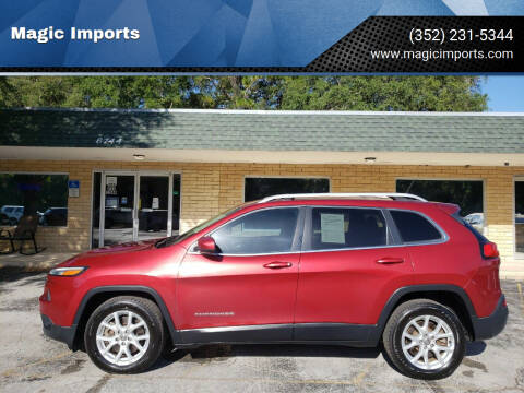2014 Jeep Cherokee for sale at Magic Imports in Melrose FL
