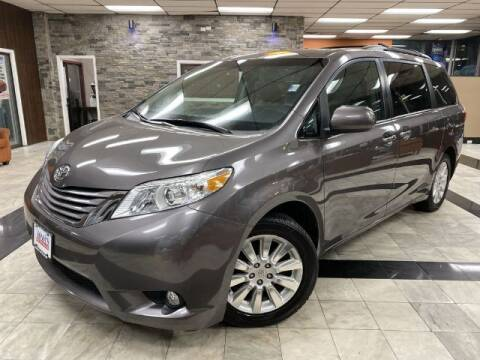 2015 Toyota Sienna for sale at Sonias Auto Sales in Worcester MA