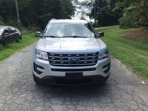 2017 Ford Explorer for sale at Speed Auto Mall in Greensboro NC