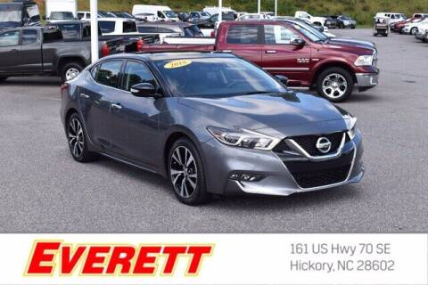 2018 Nissan Maxima for sale at Everett Chevrolet Buick GMC in Hickory NC